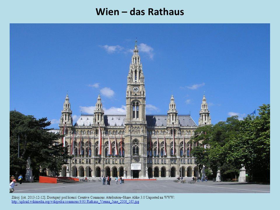 Wien – das Rathaus Zdroj: [cit. 2013-12-12].