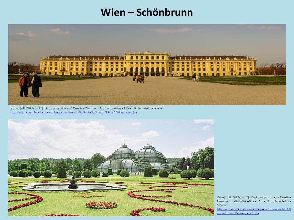Wien – Schönbrunn Zdroj: [cit. 2013-12-12].