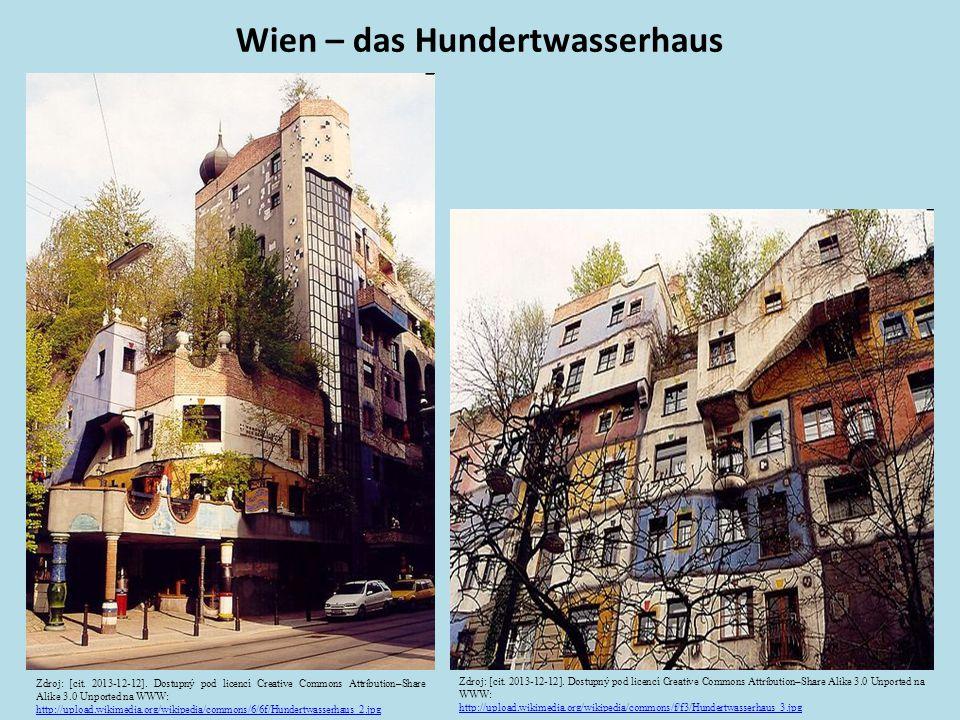 Wien – das Hundertwasserhaus Zdroj: [cit. 2013-12-12].