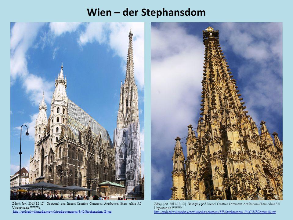 Wien – der Stephansdom Zdroj: [cit. 2013-12-12].
