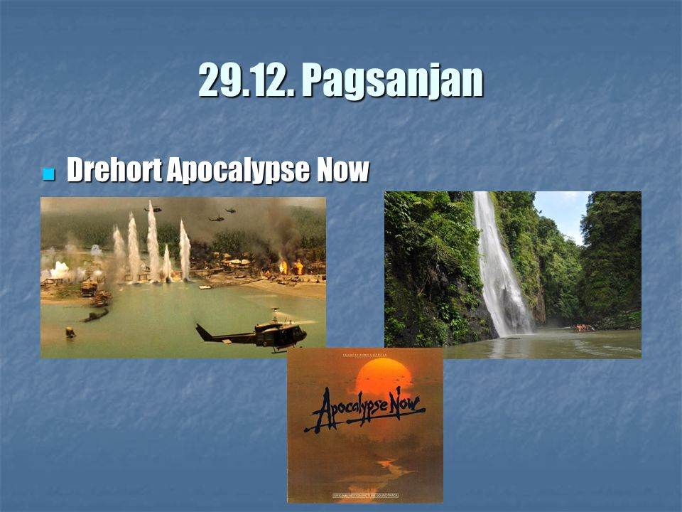 29.12. Pagsanjan Drehort Apocalypse Now Drehort Apocalypse Now