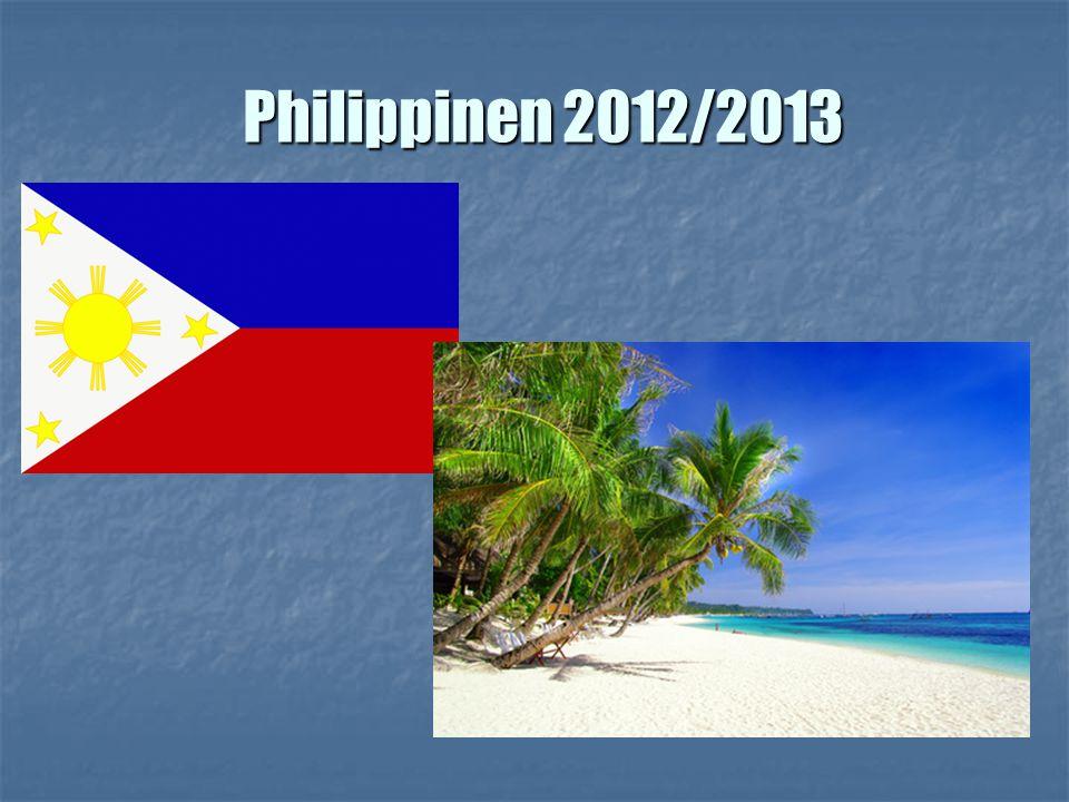 Philippinen 2012/2013