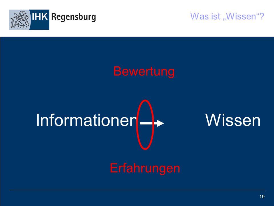 """19 Was ist """"Wissen""""? Bewertung Informationen Wissen Erfahrungen"""