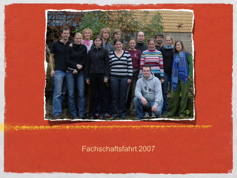 Fachschaftsfahrt 2007