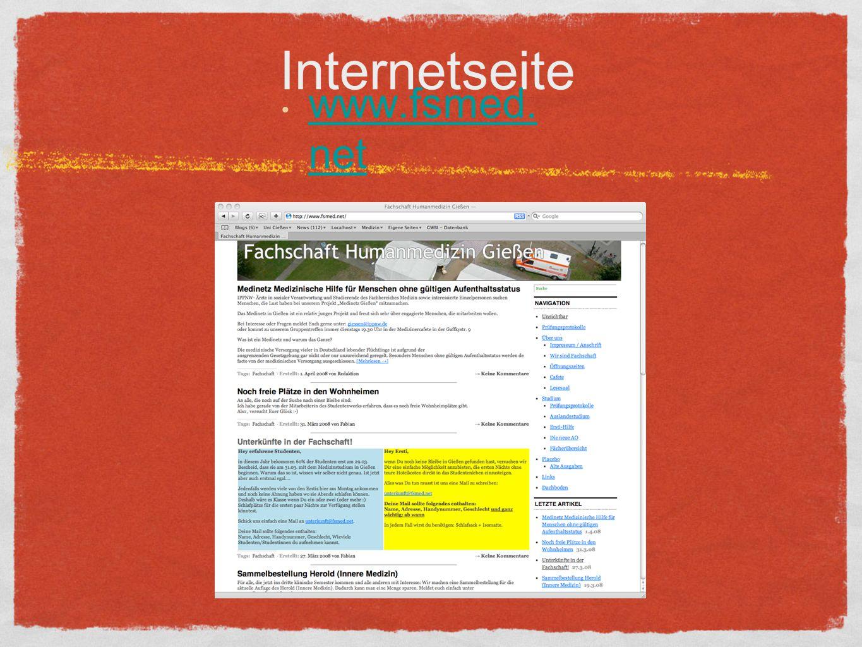 Internetseite www.fsmed. net www.fsmed. net