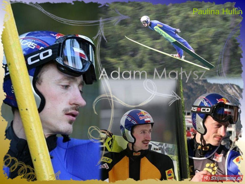 Adam Małysz kommt aus Polen.Er wohnt in Wisła. Er ist dreißig Jahre alt.