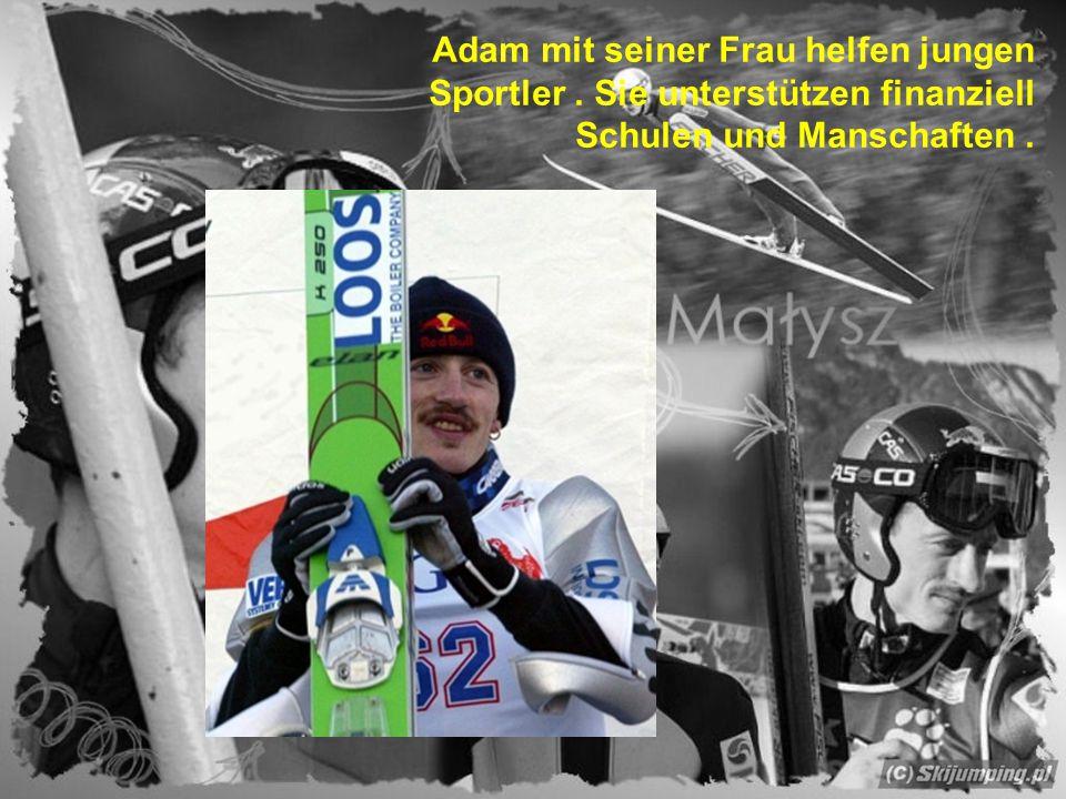 """Leute sagen über Adam """" Adler aus Wisła """".Sein Motto: gut und gerecht sein."""