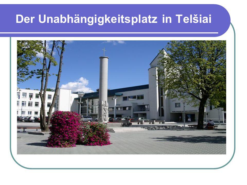 Der Unabhängigkeitsplatz in Telšiai