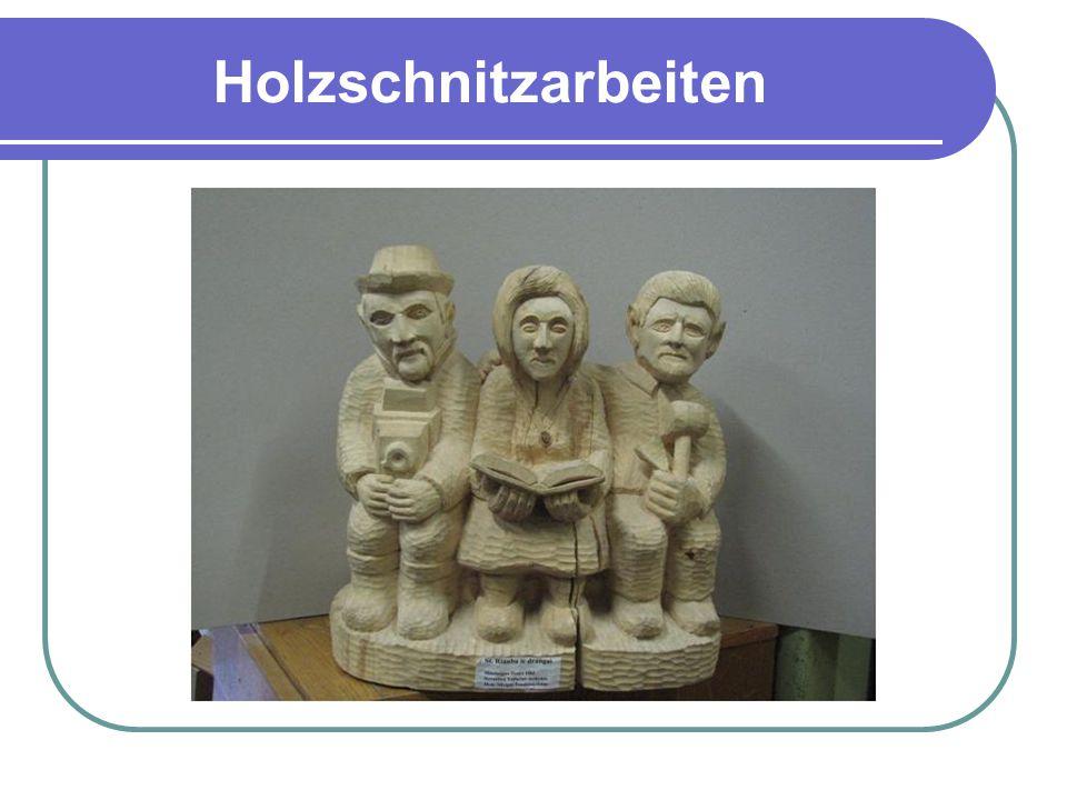 Holzschnitzarbeiten