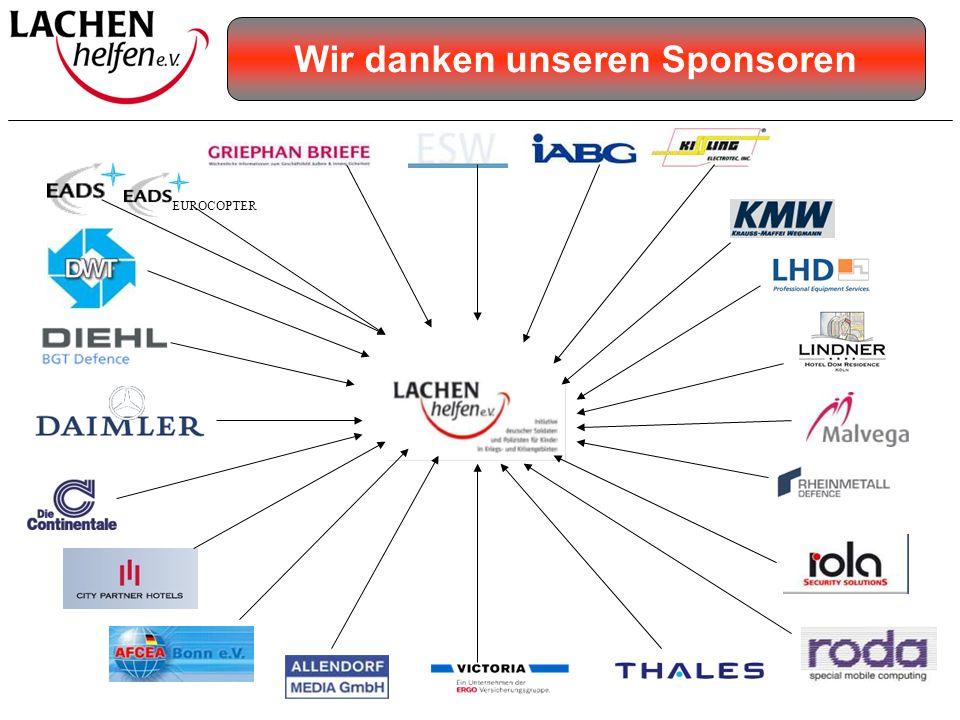 EUROCOPTER Wir danken unseren Sponsoren