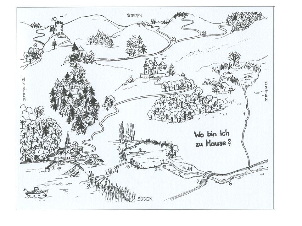 1 I n dieser Hütte wohnt niemand mehr. Karte Karte