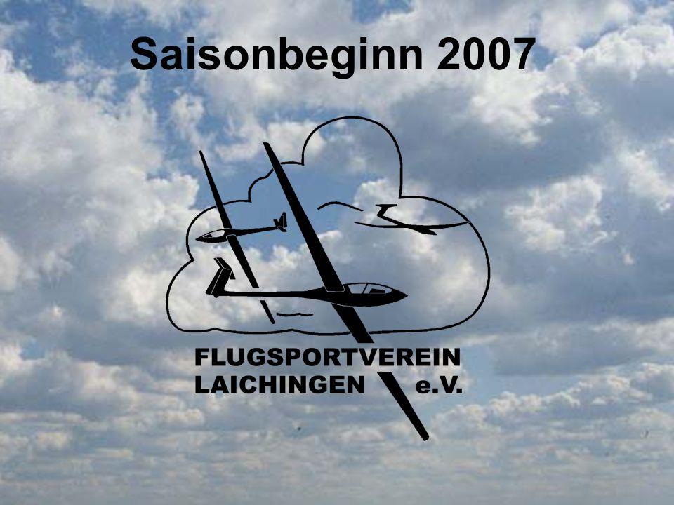 Saisonbeginn 2007