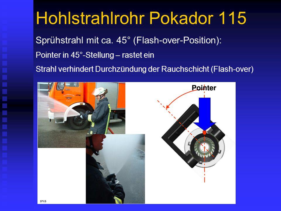 Hohlstrahlrohr Pokador 115 Sprühstrahl mit ca.