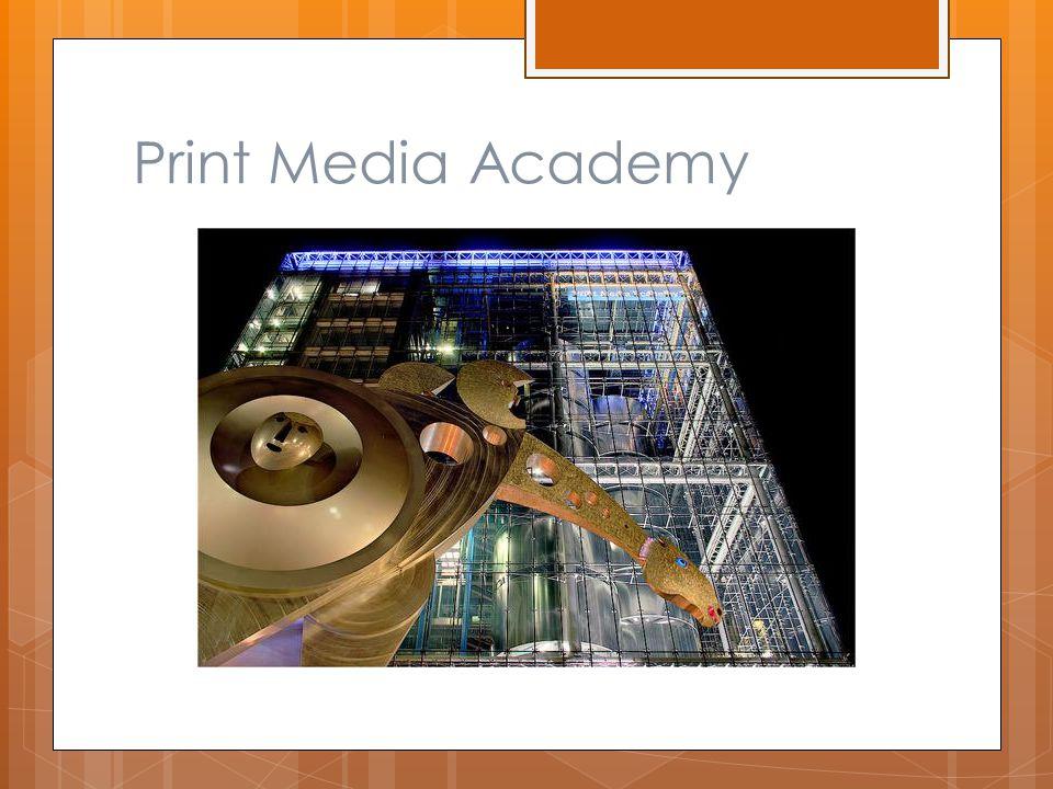 Print Media Academy