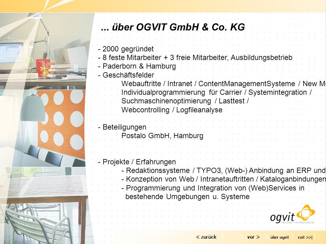 ... über OGVIT GmbH & Co.