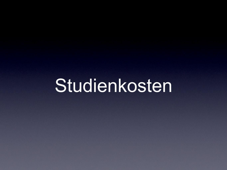 Studienkosten