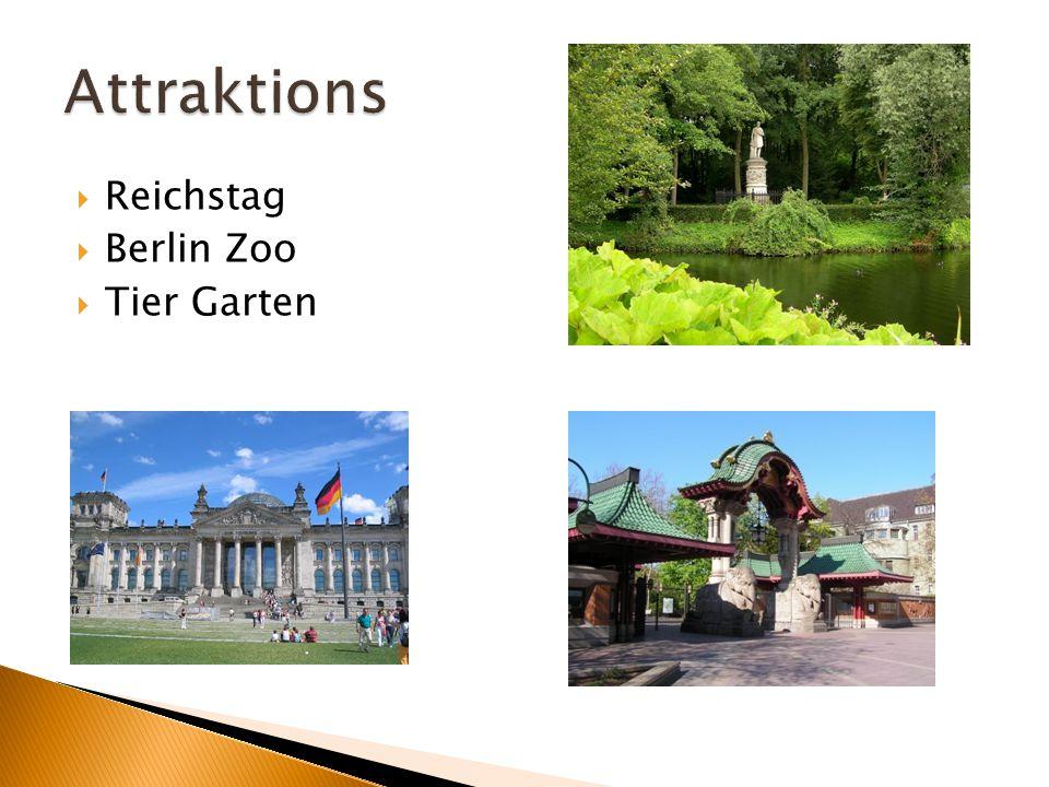  Reichstag  Berlin Zoo  Tier Garten