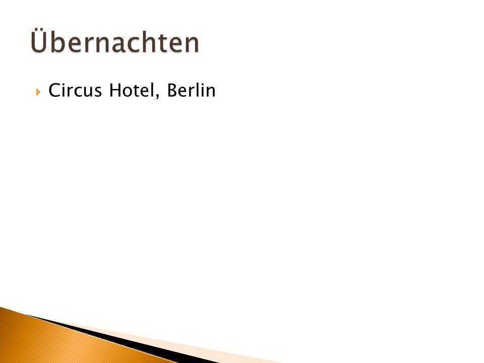  Circus Hotel, Berlin