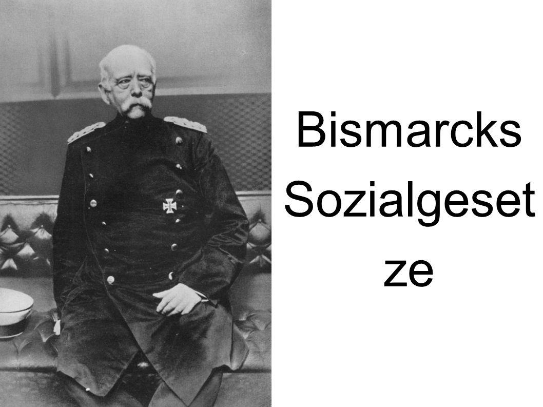 """Gliederung Biographische Daten Bismarcks Politische Karriere Politische Ausrichtung Bismarcks Sozialgesetze/ Sozialistengesetze Folgen und Auswirkungen """"Bismarck heute / Wissenswertes"""
