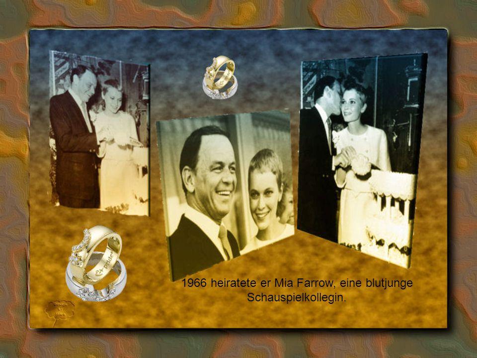 Die1951 geschlossene zweite Ehe mit dem Filmstar Ava Gardner hielt nur wenige Jahre; bereits 1953 erfolgte die offizielle Trennung, die Scheidung 1957.
