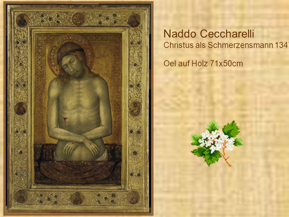 Dieric Bouts c. 1400 und 1420-1475 Marienkroenung c.1450 Mischtechnik auf Holz, 83x85cm