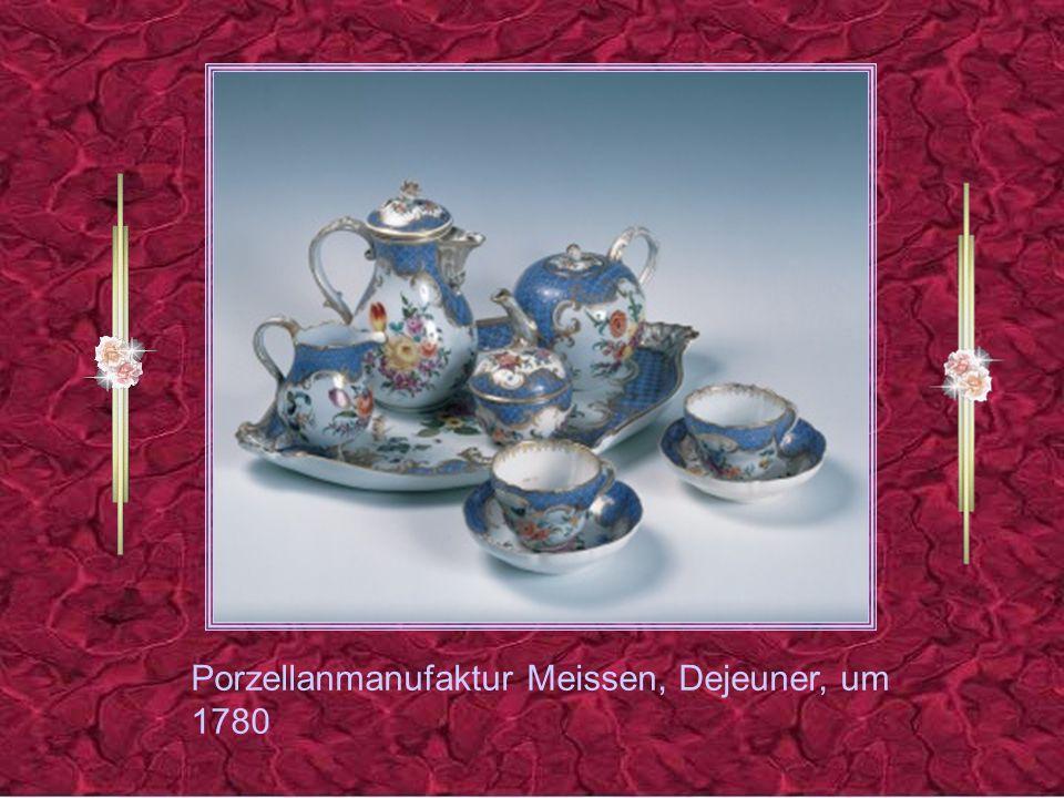 Porzellanmanufaktur Meissen, Dejeuner, um 1780