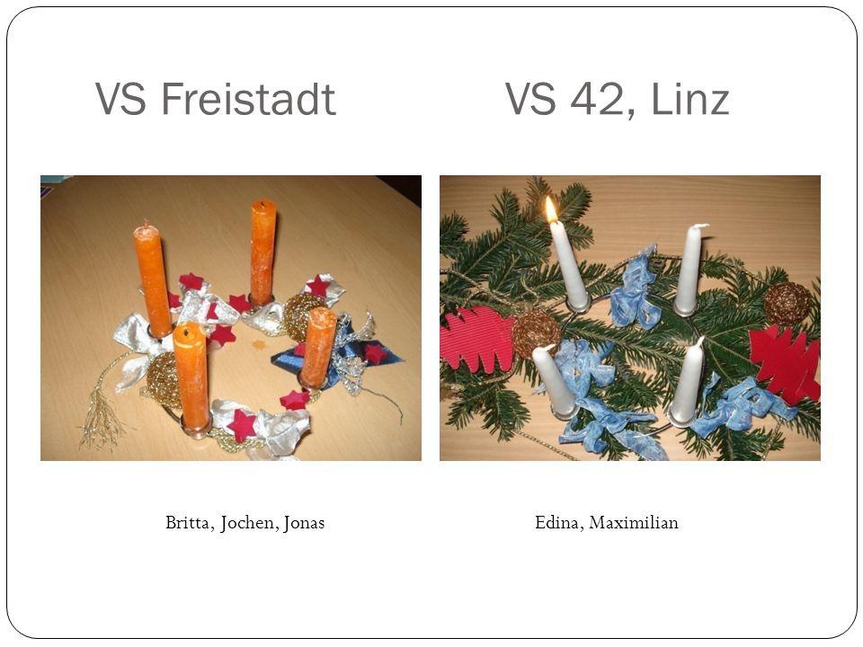 VS Freistadt VS 42, Linz Britta, Jochen, JonasEdina, Maximilian
