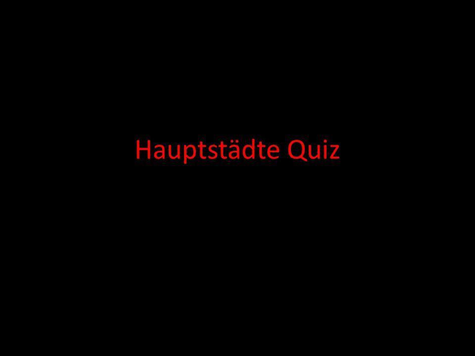 Hauptstädte Quiz