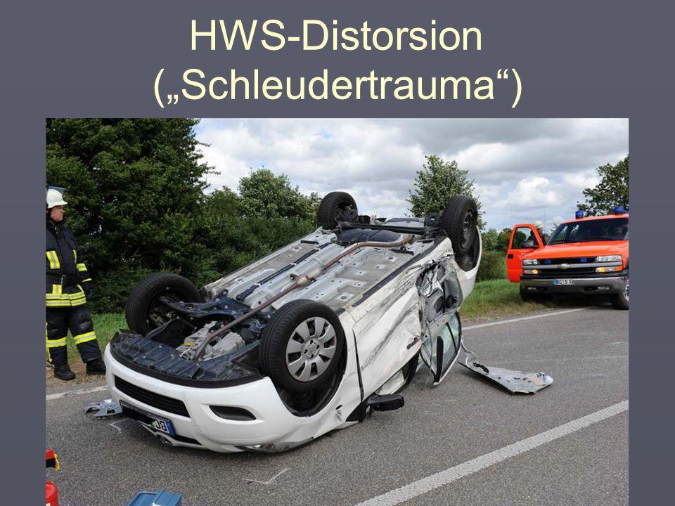 "HWS-Distorsion (""Schleudertrauma"") 4 ""Technik"""