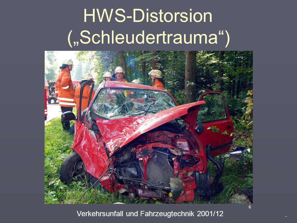 "HWS-Distorsion (""Schleudertrauma"") 5"