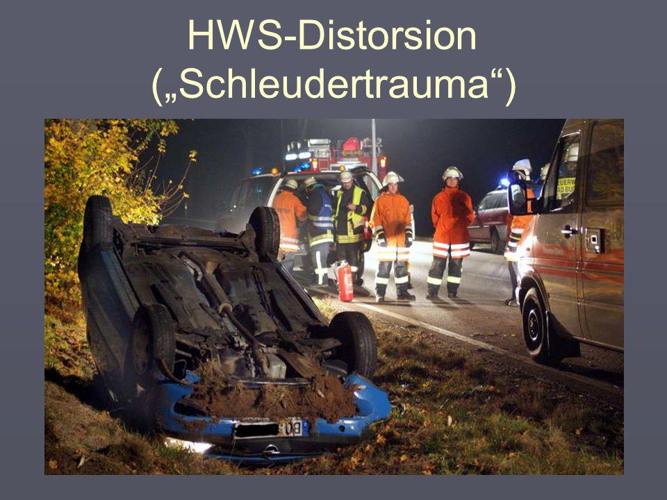 "HWS-Distorsion (""Schleudertrauma"") 7"