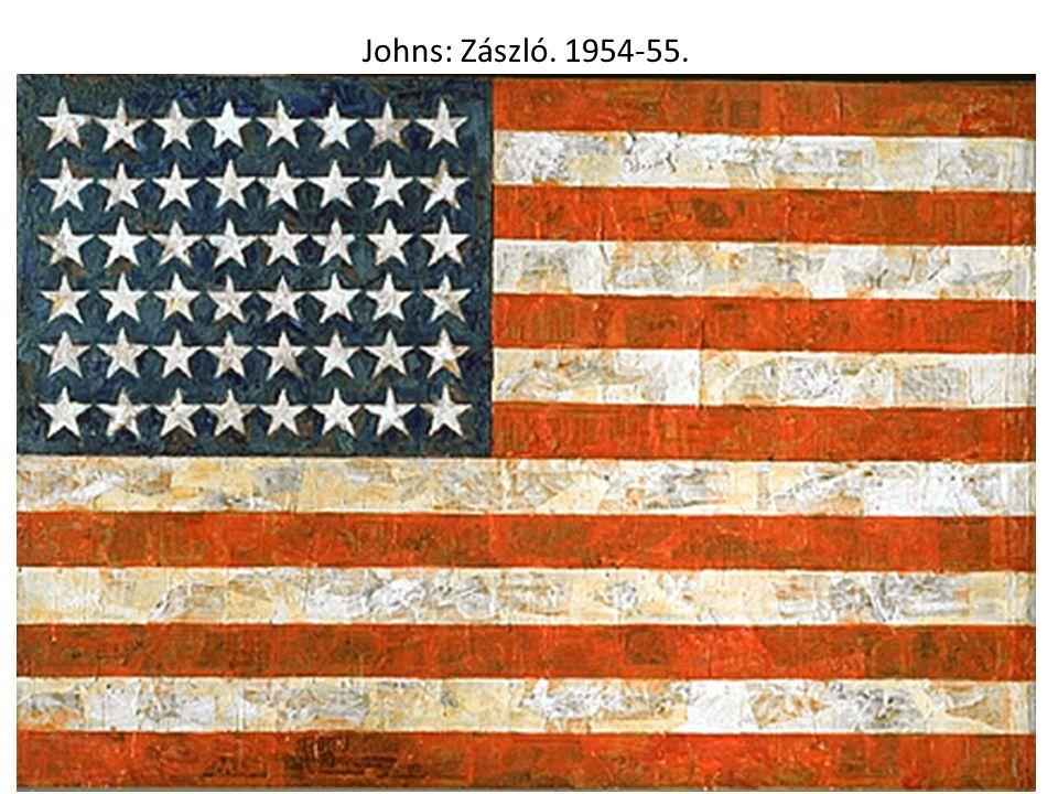 Johns: Zászló. 1954-55.