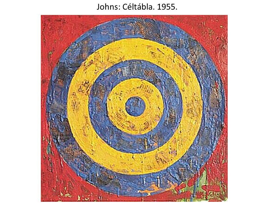 Johns: Céltábla. 1955.