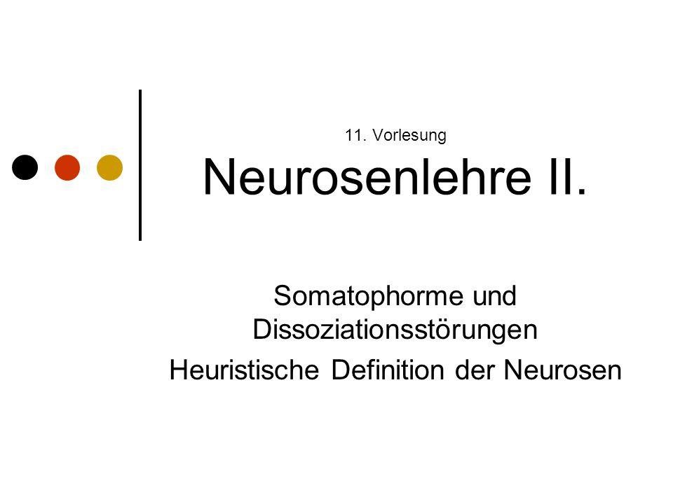 11.Vorlesung Neurosenlehre II.