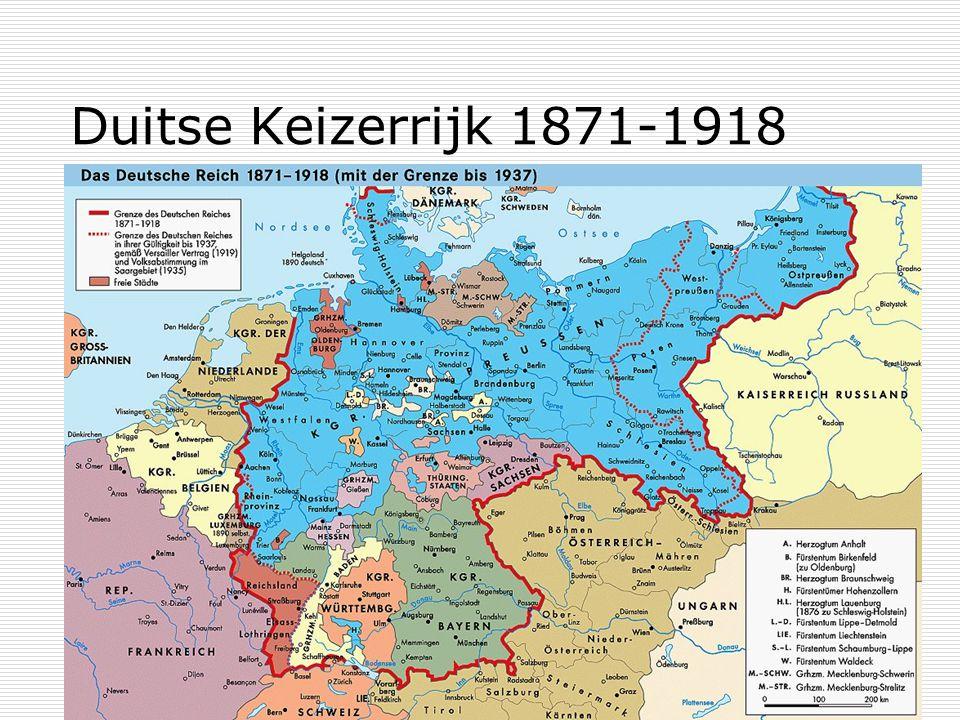 Duitse Keizerrijk 1871-1918