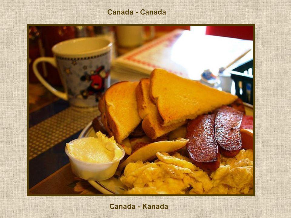 Canada - Canada Canada - Kanada