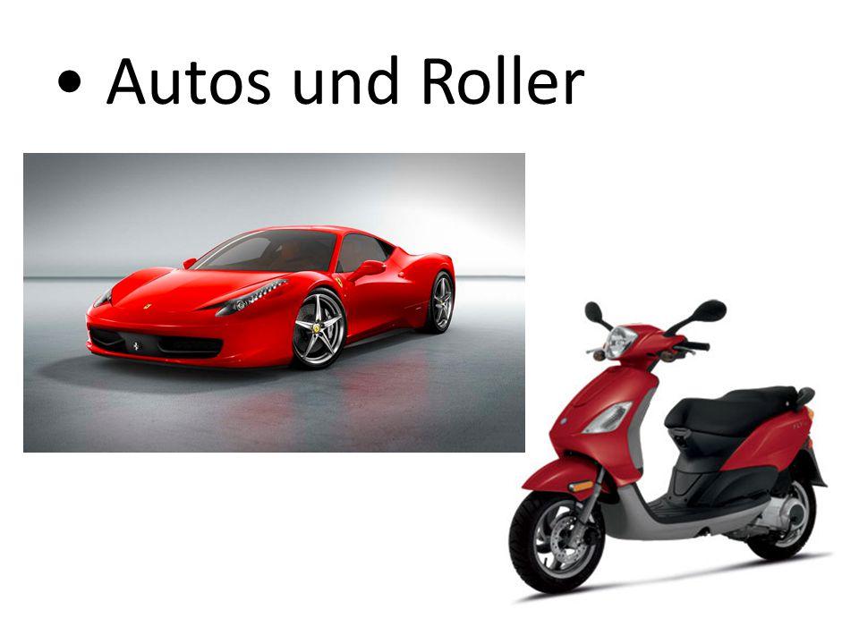 Autos und Roller