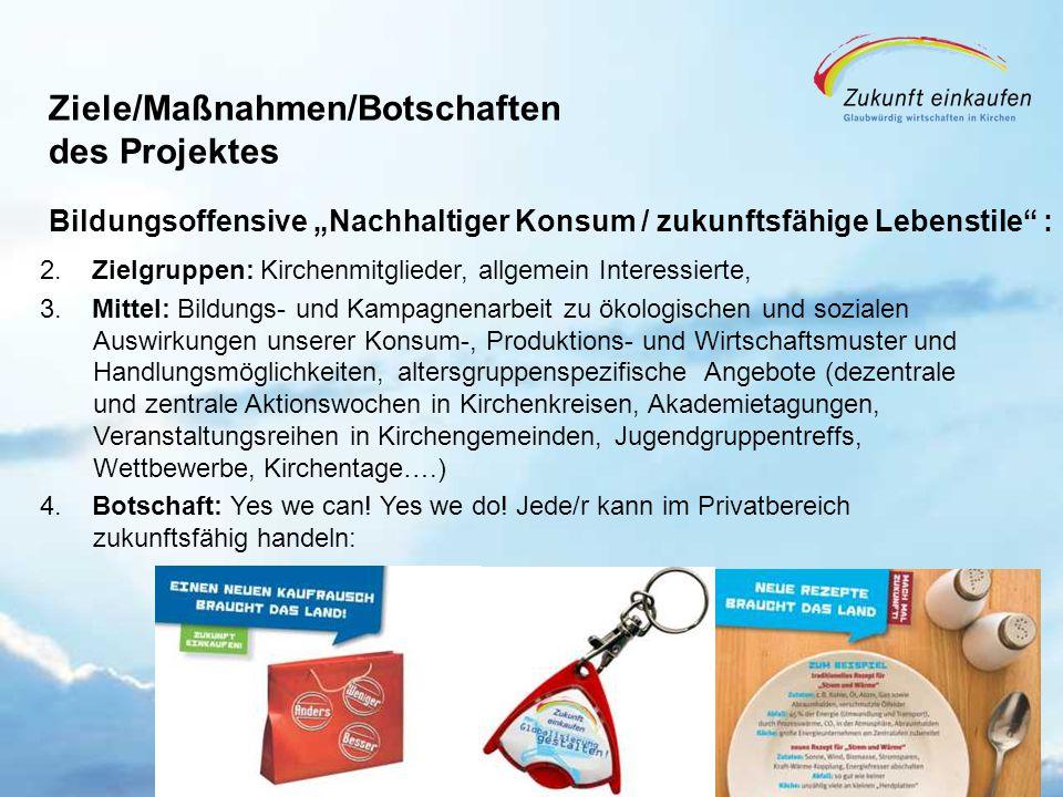 Copyright: EKvW 2008 Ziele/Maßnahmen/Botschaften des Projektes 2.