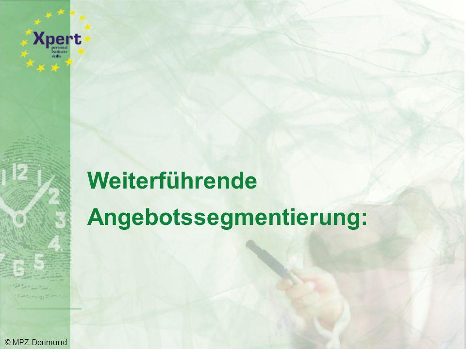 """Beispiel: Skala """"Einschätzungsprofil © MPZ Dortmund"""