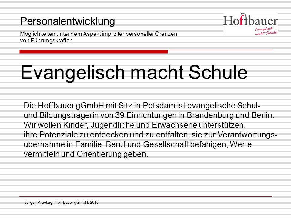 Jürgen Kraetzig, Hoffbauer gGmbH, 2010 Personalentwicklung im multiprofessionellen Team  Was kann ich.