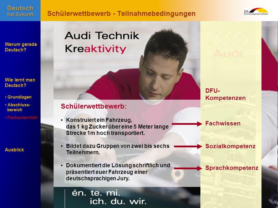 Wie lernt man Deutsch. Warum gerade Deutsch.
