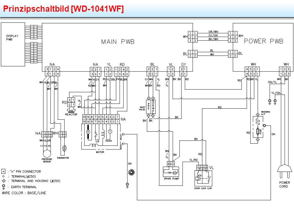 Prinzipschaltbild [WD-1041WF]