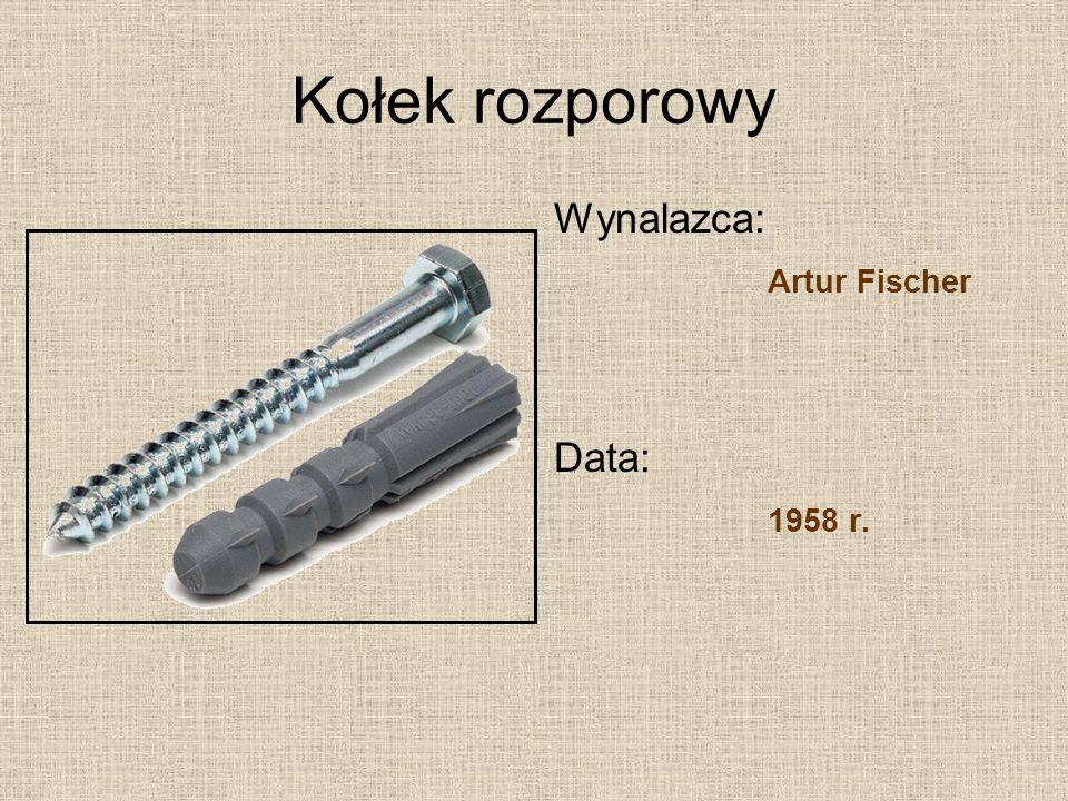 Karta chip Wynalazca: Jürgen Dethloff, Helmut Gröttrup Data: 1969 r.