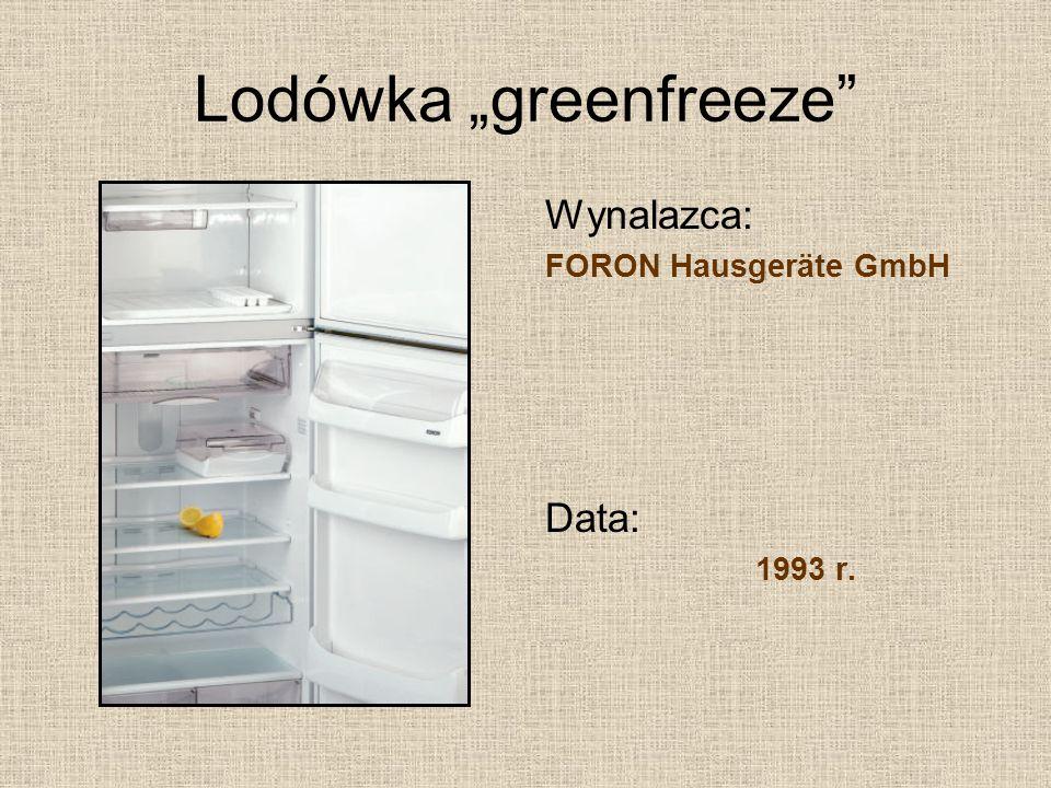 Proteza C-leg Wynalazca: Otto Bock Healtcare GmbH Data: 1997 r.