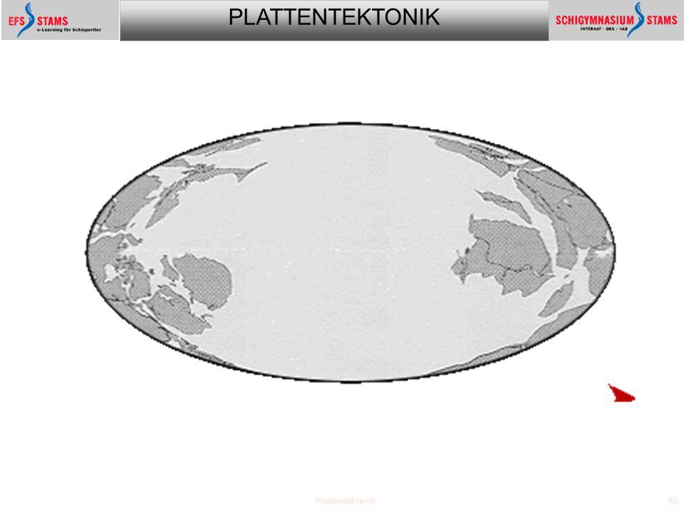PLATTENTEKTONIK Plattentektonik35