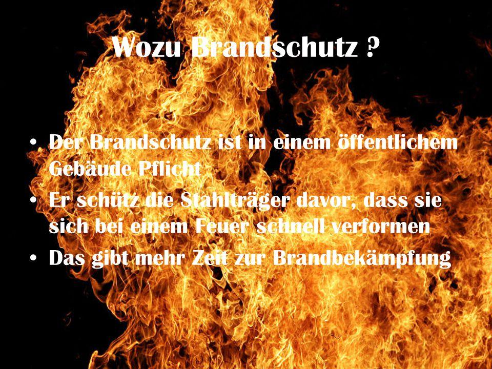 Wozu Brandschutz .