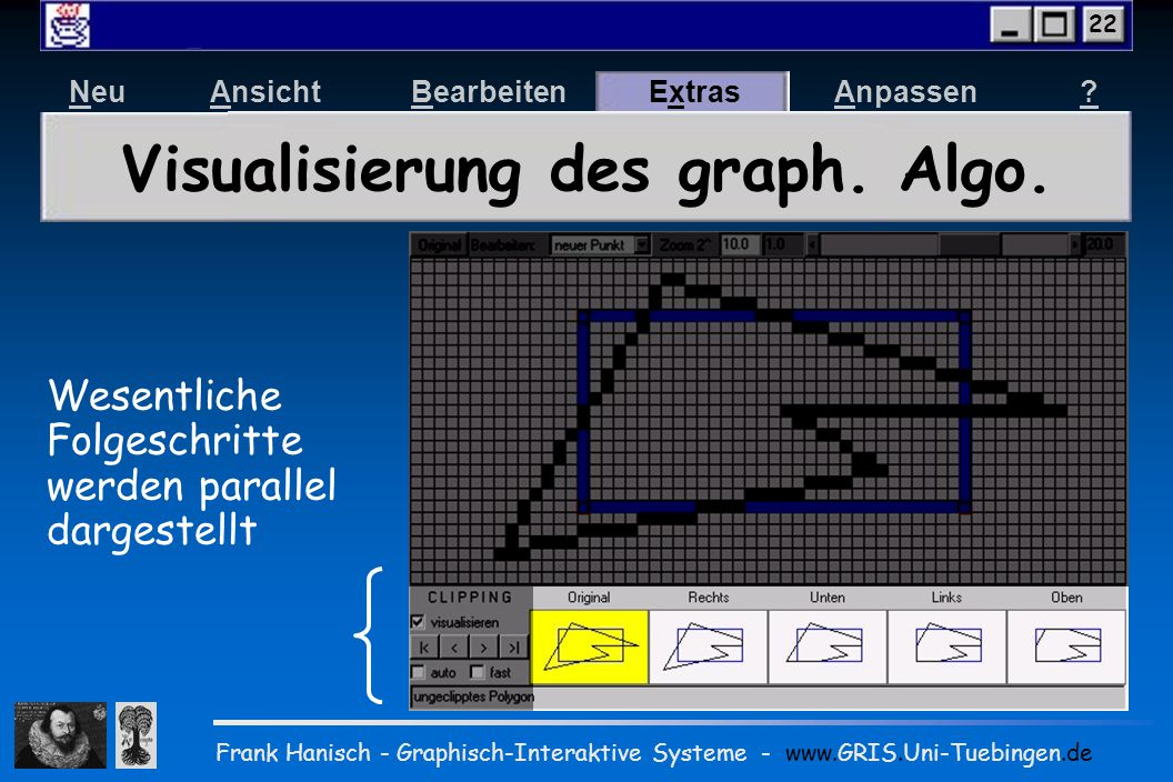 Ein Web-basierter Computergraphik-Kurs im Baukastensystem Neu AnsichtBearbeitenExtrasAnpassen.