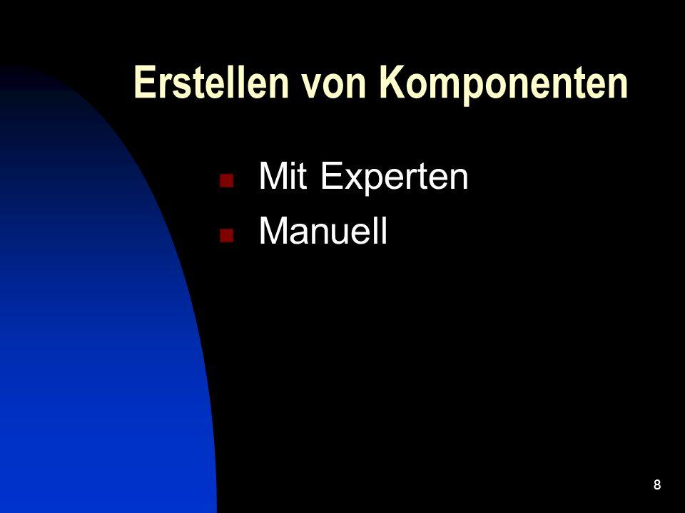 7 Manipulation von Komponenten