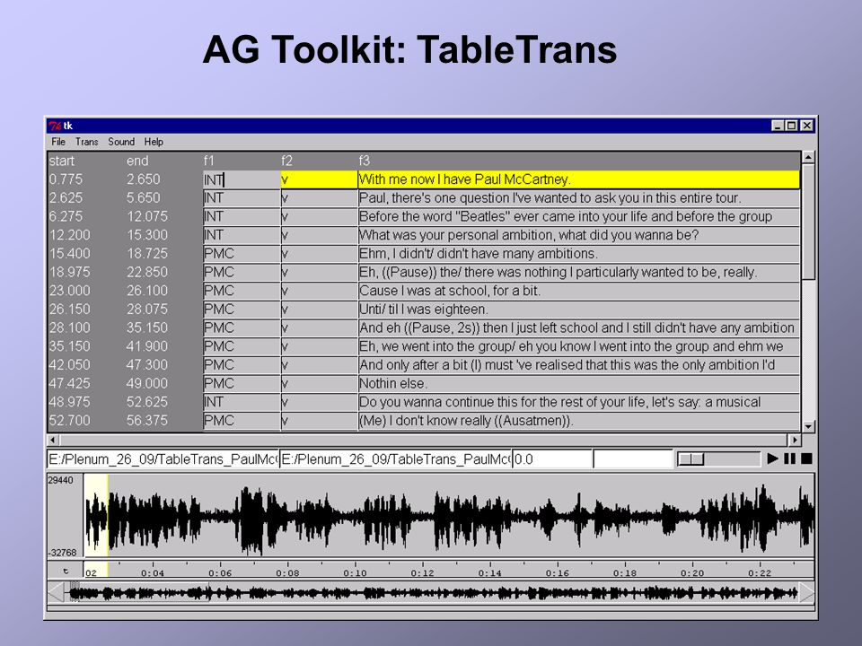 AG Toolkit: TableTrans
