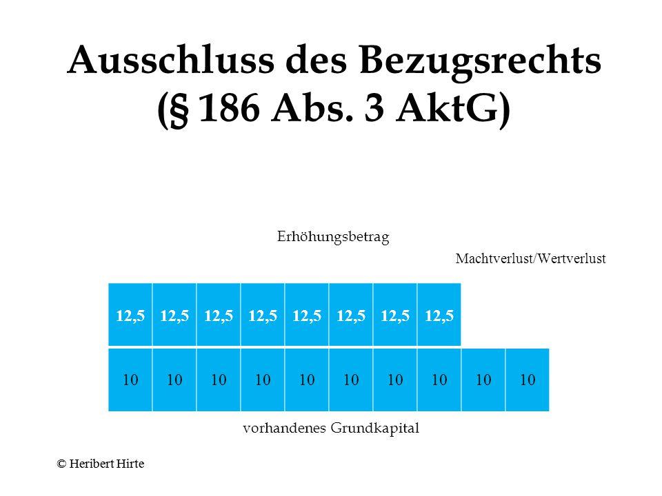 Bezugsrecht (§ 186 Abs.